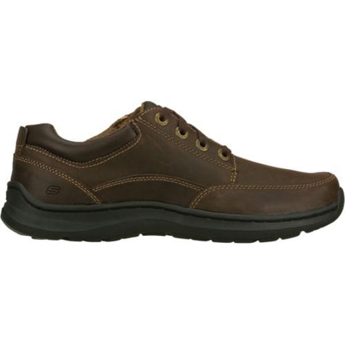 Men's Skechers Relaxed Fit Botein Verman Brown/Brown - Thumbnail 1