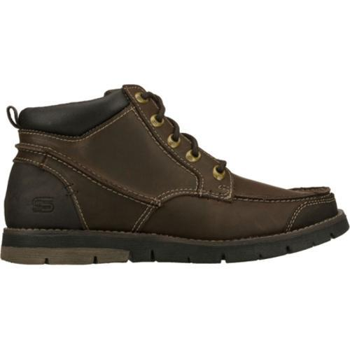 Men's Skechers Relaxed Fit Kane Maken Brown - Thumbnail 1