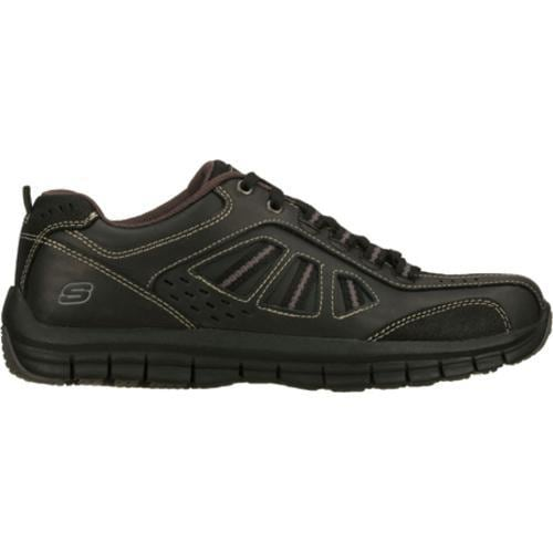 Men's Skechers Relaxed Fit Masen Alomar Black - Thumbnail 1