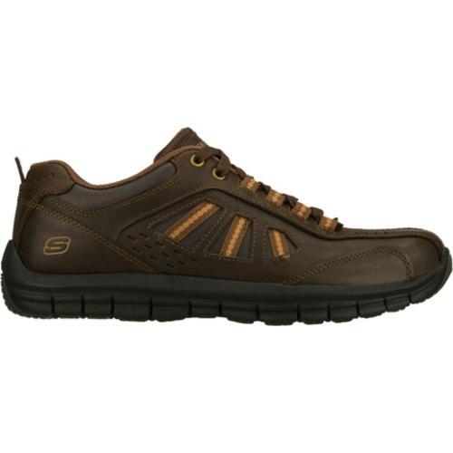 Men's Skechers Relaxed Fit Masen Alomar Brown - Thumbnail 1