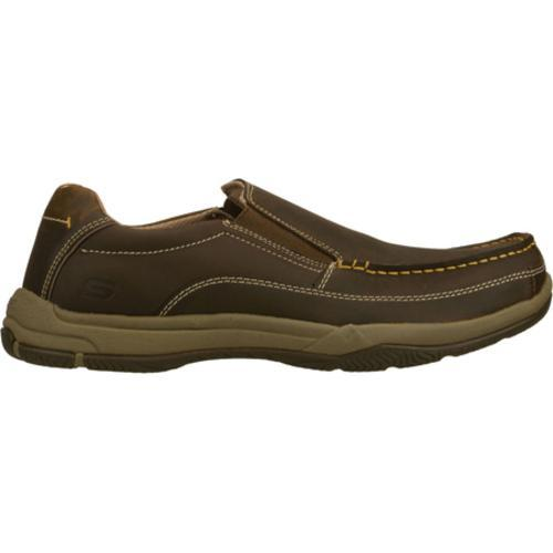 Men's Skechers Relaxed Fit Valko Niguel Brown - Thumbnail 1