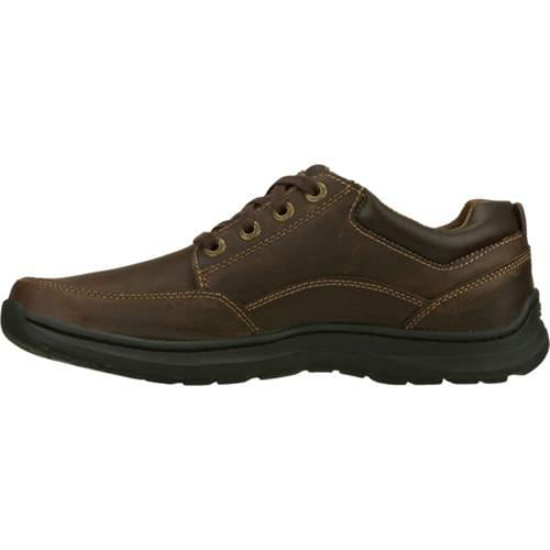 Men's Skechers Relaxed Fit Botein Verman Brown/Brown - Thumbnail 2