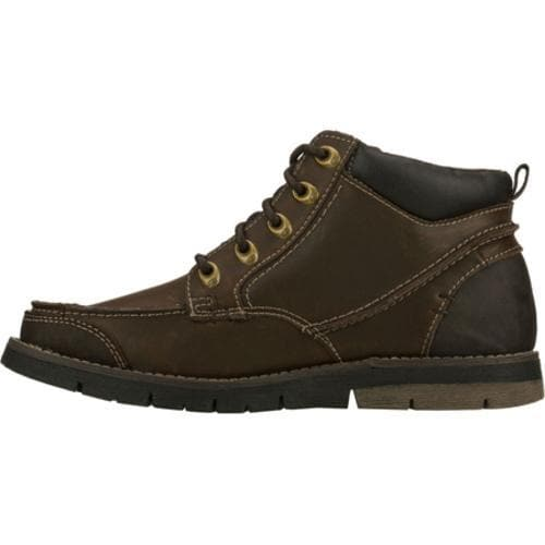 Men's Skechers Relaxed Fit Kane Maken Brown - Thumbnail 2