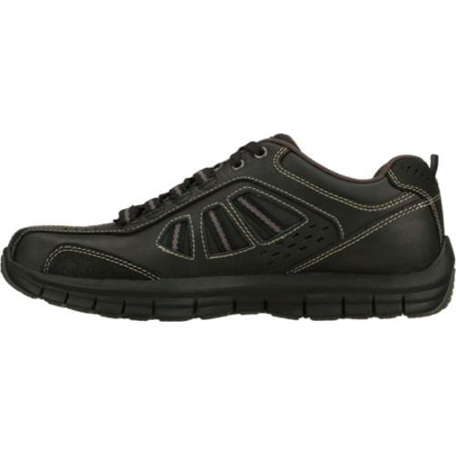 Men's Skechers Relaxed Fit Masen Alomar Black - Thumbnail 2