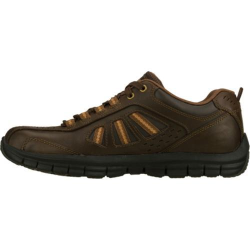 Men's Skechers Relaxed Fit Masen Alomar Brown - Thumbnail 2