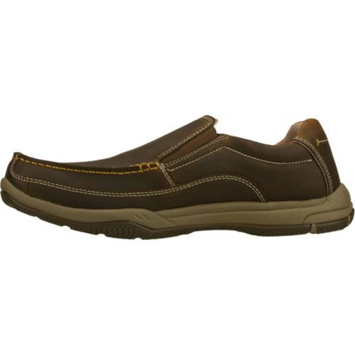 Men's Skechers Relaxed Fit Valko Niguel Brown - Thumbnail 2