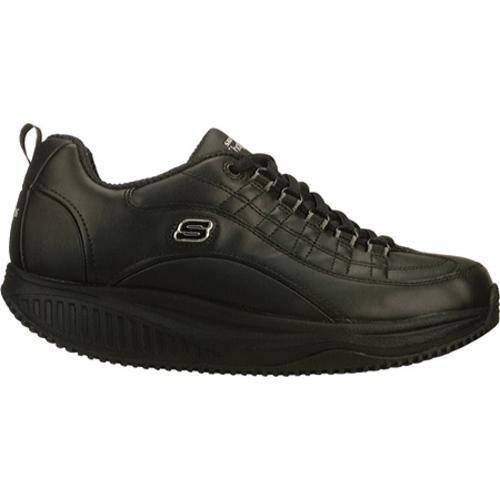 Women's Skechers Shape Ups X Wear Slip Resistant Register Black - Thumbnail 1
