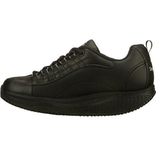 Women's Skechers Shape Ups X Wear Slip Resistant Register Black - Thumbnail 2