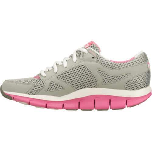 Chaise longue rival Persuasivo  Women's Skechers Shape Ups Liv Gray/Pink - Overstock - 7381278