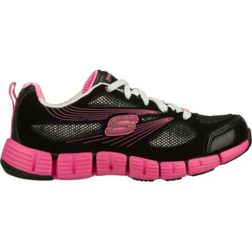 Girls' Skechers Stride Black/Pink - Thumbnail 1