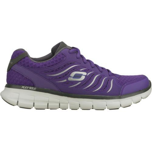 Women's Skechers Synergy Purple - Thumbnail 1