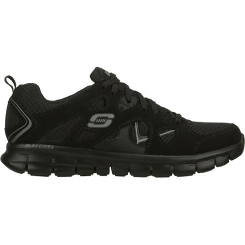 Men's Skechers Synergy Gridiron Black - Thumbnail 1