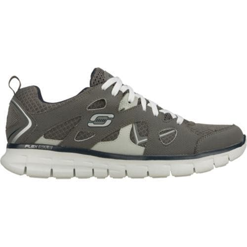 Men's Skechers Synergy Gridiron Gray/Navy - Thumbnail 1