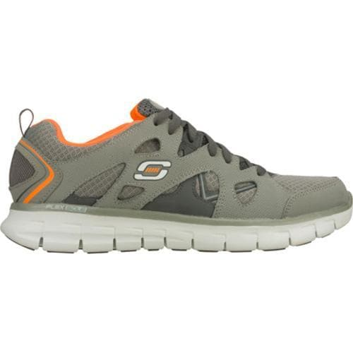 Men's Skechers Synergy Gridiron Gray/Orange - Thumbnail 1