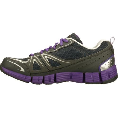 Women's Skechers Stride Gutsy Gray/Purple