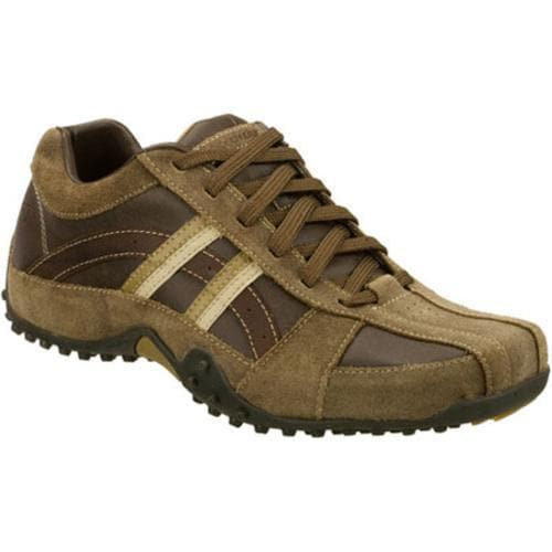 Men's Skechers Urbantrack Browser Khaki/Brown