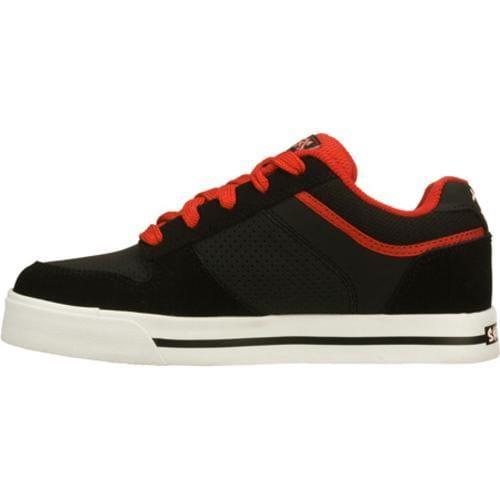Boys' Skechers Vert 2 Black/Red - Thumbnail 2