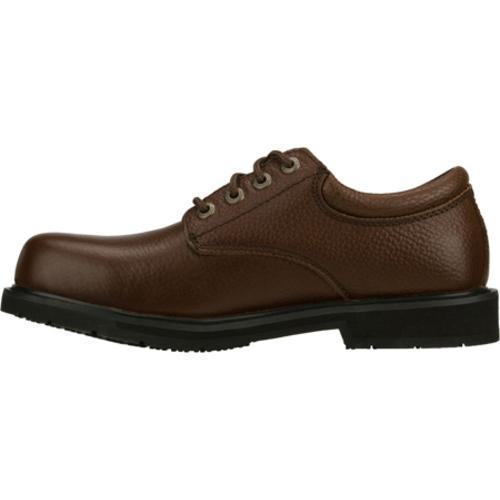 Men's Skechers Work Exalt Brown - Thumbnail 2
