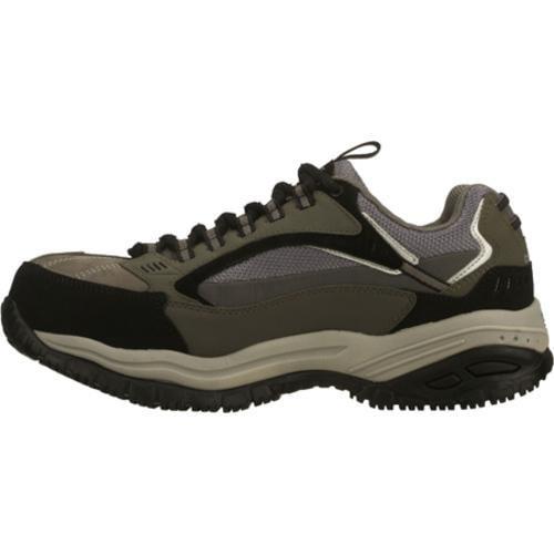 Men's Skechers Work Soft Stride Compo Gray/Black - Thumbnail 2