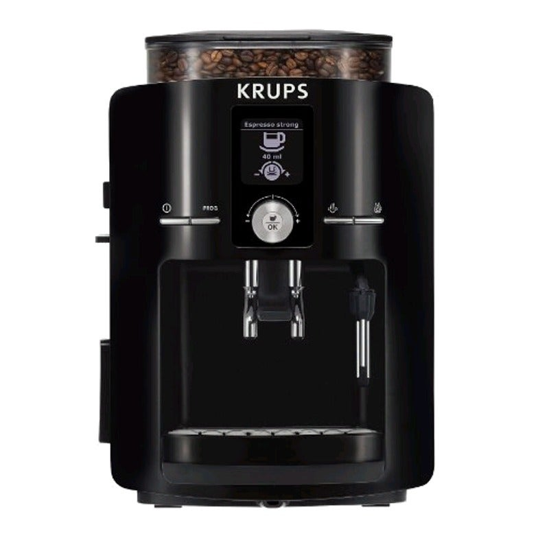 Krups Black/ Silver Automatic Espresso Machine
