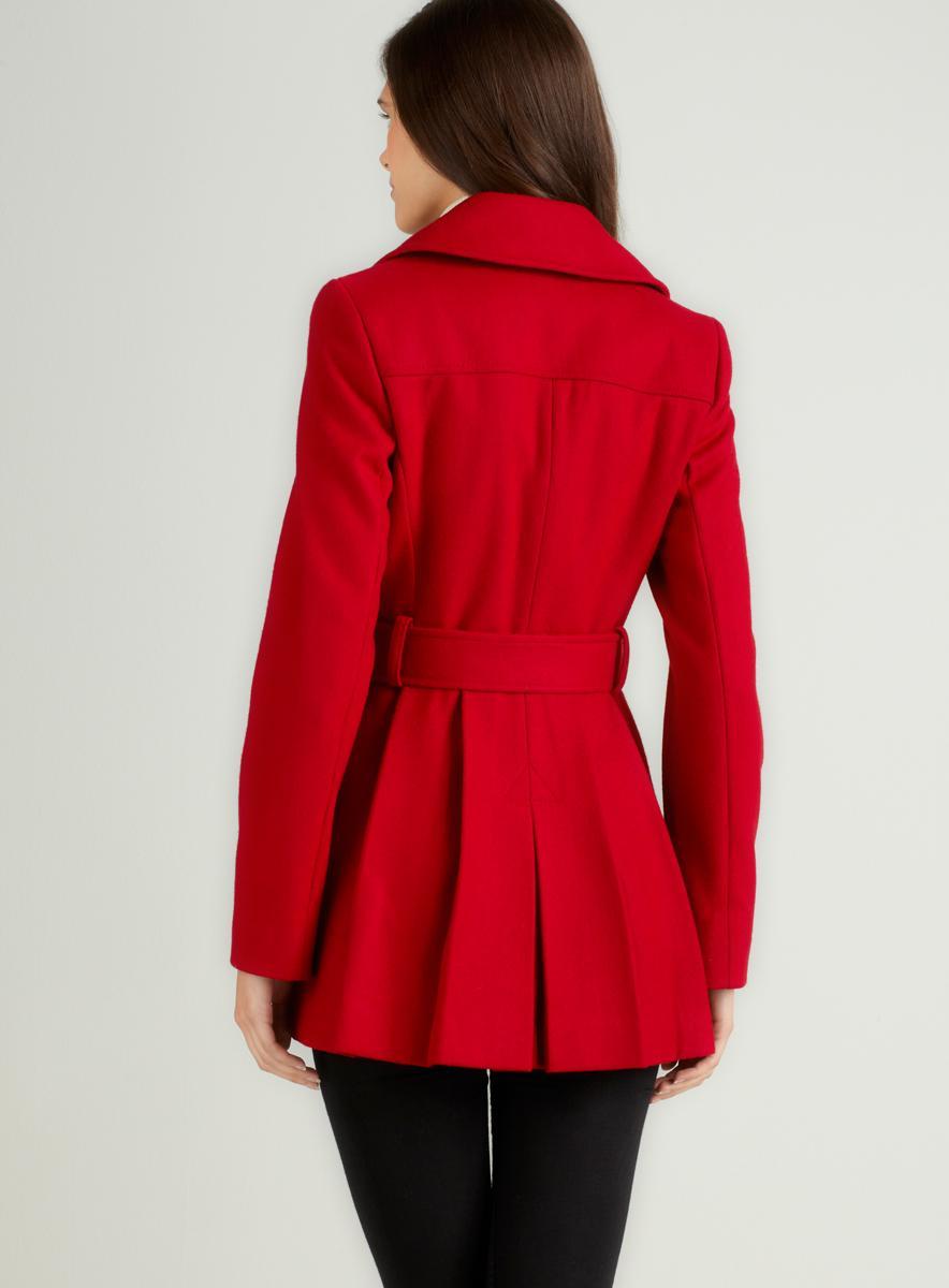 Via Spiga Double Coat With Belt - Thumbnail 1