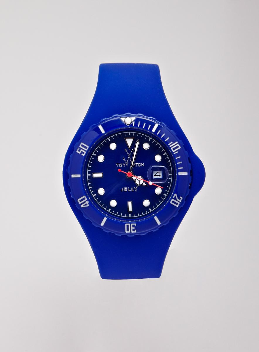 Toy Ladies Toy Blue Jelly Watch