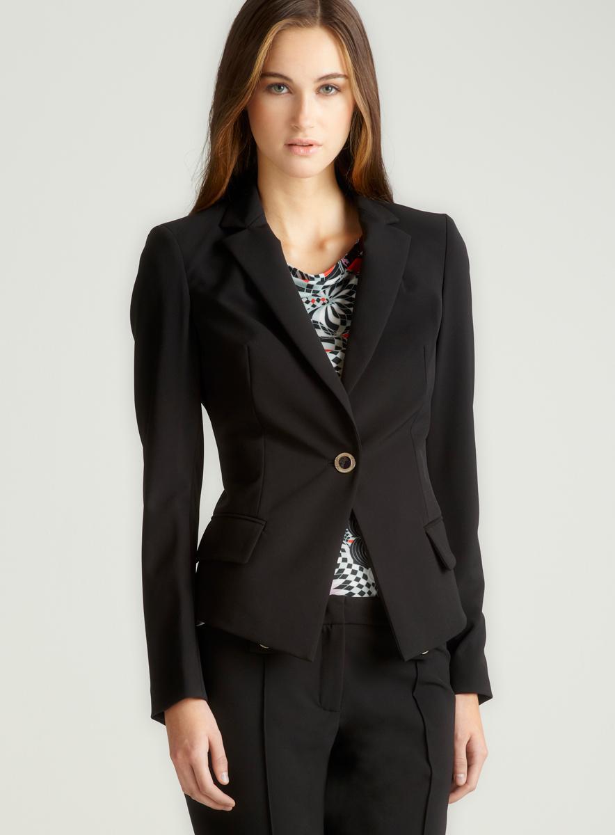 Versace Single Button Blazer
