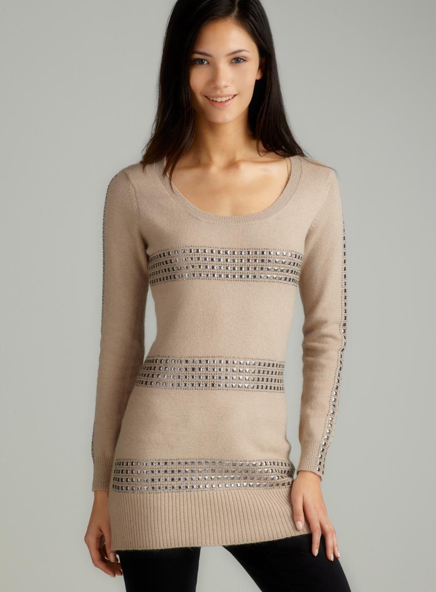 Vertigo L/S Metal Striped Sweater