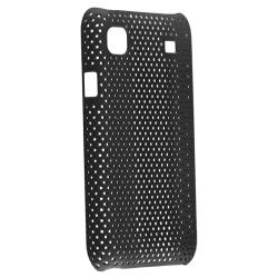 Black Mesh Case/ Screen Protector Set for Samsung Galaxy S GT-i9000 - Thumbnail 1