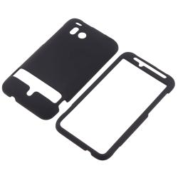 Clear/ Black/ White Cases/ Screen Protector Set for HTC ThunderBolt 4G - Thumbnail 1