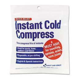 First Aid Only Cold Compress- 4 x 5