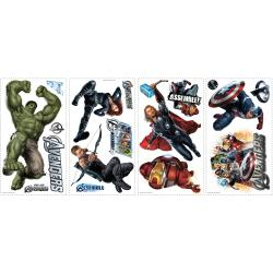 RoomMates Avengers Removable Peel and Stick Vinyl Wall Decals - Thumbnail 1