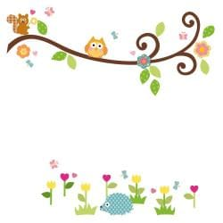 RoomMates Happi Scroll Branch Peel and Stick Wall Decals - Thumbnail 1