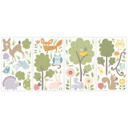 RoomMates Woodland Animals Peel and Stick Wall Decals - Thumbnail 1