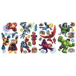 RoomMates Marvel Super Hero Squad Peel and Stick Wall Decals - Thumbnail 1