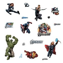 RoomMates Avengers Removable Peel and Stick Vinyl Wall Decals - Thumbnail 2