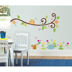 RoomMates Happi Scroll Branch Peel and Stick Wall Decals - Thumbnail 2