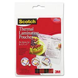 3M Index card size thermal laminating pouches, 5