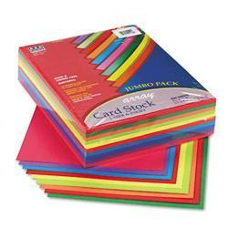 Pacon Array Card Stock- 65lb- Assorted Lively