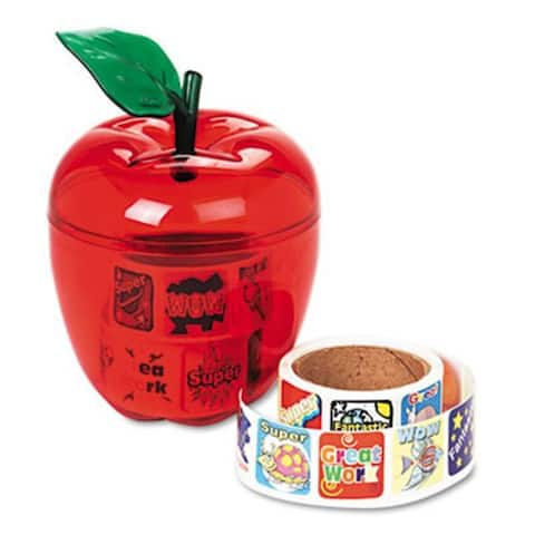 Pacon Stickers in Plastic Apple