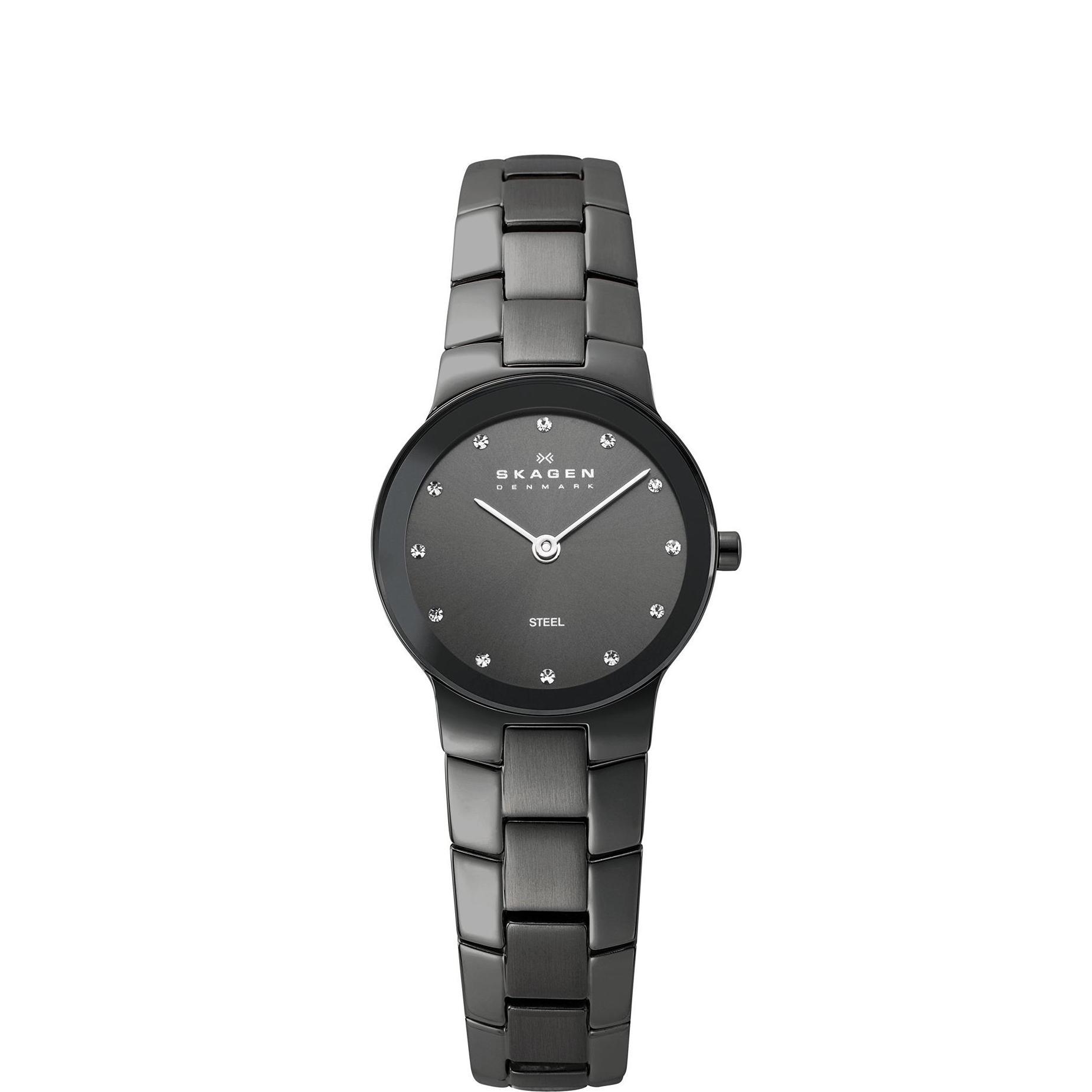 Skagen Women's Stainless Steel Charcoal Watch