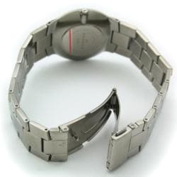 Skagen Men's Stainless Steel Grey Dial Watch