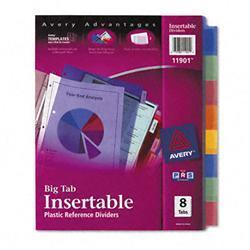 Avery Worksaver Big Tab Plastic Dividers