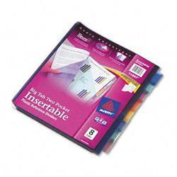 Avery Worksaver Big Tab Plastic Dividers Two