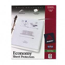 Avery Top-Load Poly Sheet Protectors Economy