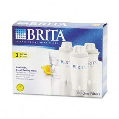 Brita Pitcher Replacement Filters (3-pack)
