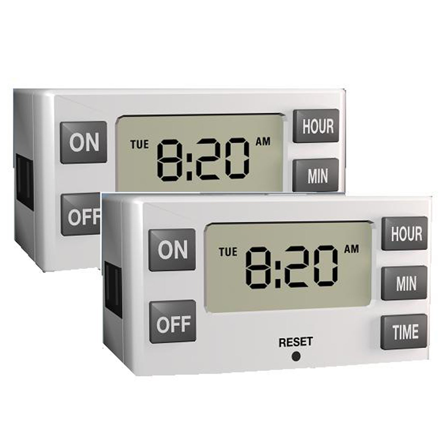 Stanley Timer Max Digital Indoor Lamp Timers (Set Of 2)