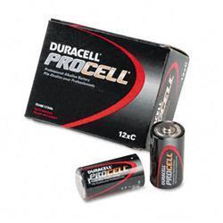 Duracell Procell Alkaline Battery C 12/box