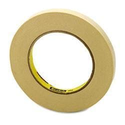 3m 201 general use masking tape 2 inches x 60 yards tan