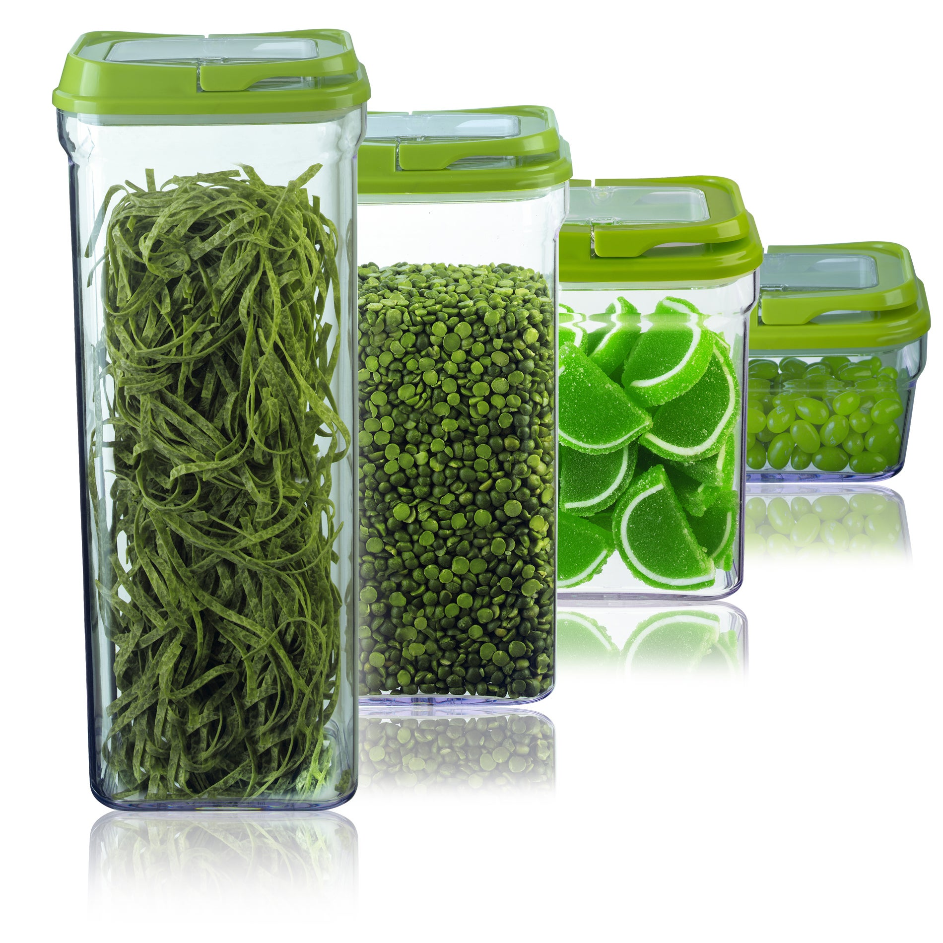 Art and Cook Green 4-piece Storage Container Set